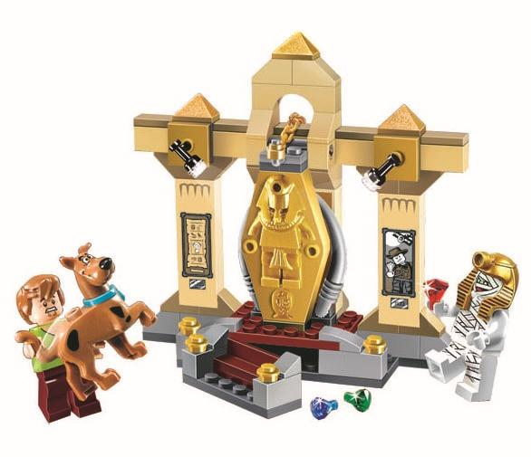 Museo BELA Scooby-doo 10428 Momia tapiceria Bloque de Construccion Model Kits de Scooby Doo Maravillo Juguetes P030