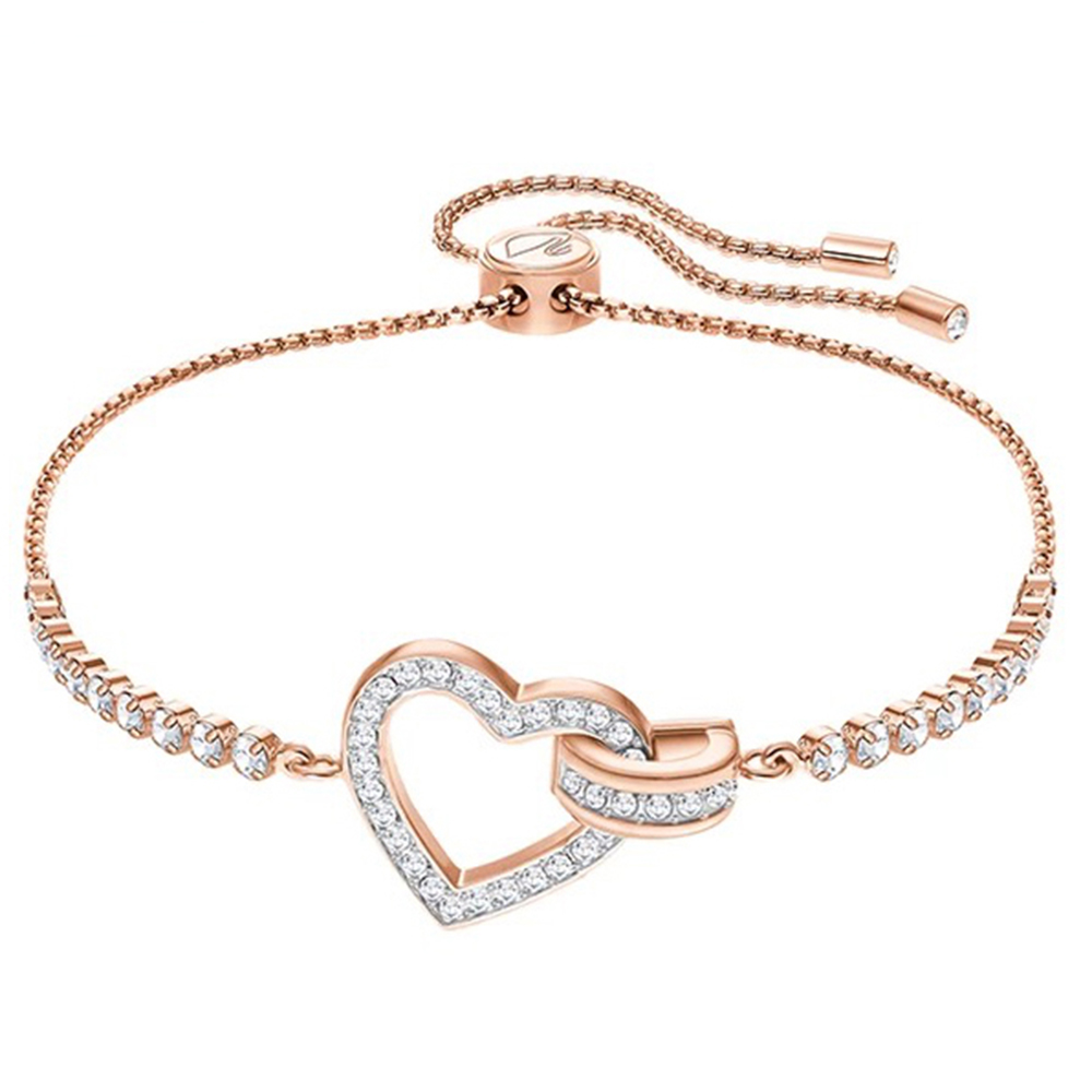 2018 New Rose Gold Retro Love Charm Inlaid Zircon Fashion Simple Ladies Bracelet Adjustable Ball Wedding Anniversary Recommended2018 New Rose Gold Retro Love Charm Inlaid Zircon Fashion Simple Ladies Bracelet Adjustable Ball Wedding Anniversary Recommended