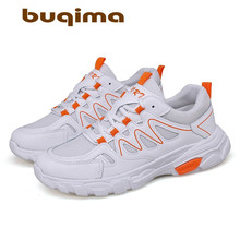 buqima Lace Up Air Mesh Sneakers Men Casual Shoes Male Fashion Outdoor Walking FootwearTenis Masculino Adulto