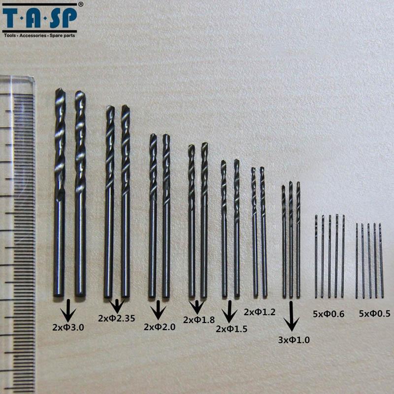 TASP 25db-os mikro Mini fúrószárak készlet 0.5mm ~ 3mm NYÁK - Fúrófej - Fénykép 3