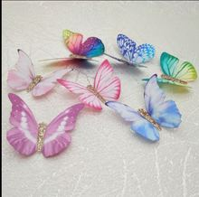 Free shipping 1.8-5cm wedding Decor 3D butterfly