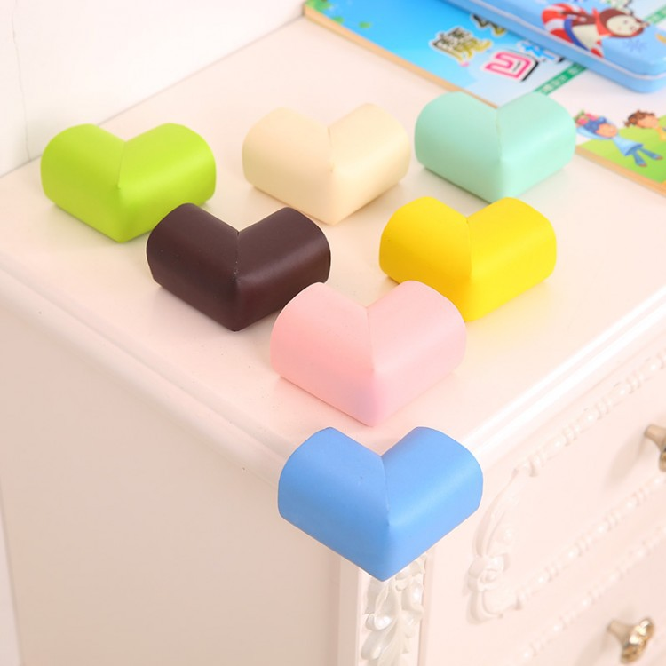 1Pcs Child Baby Safety Silicone Protector Table Corner Edge Protection Cover Children Anticollision Edge & Guards