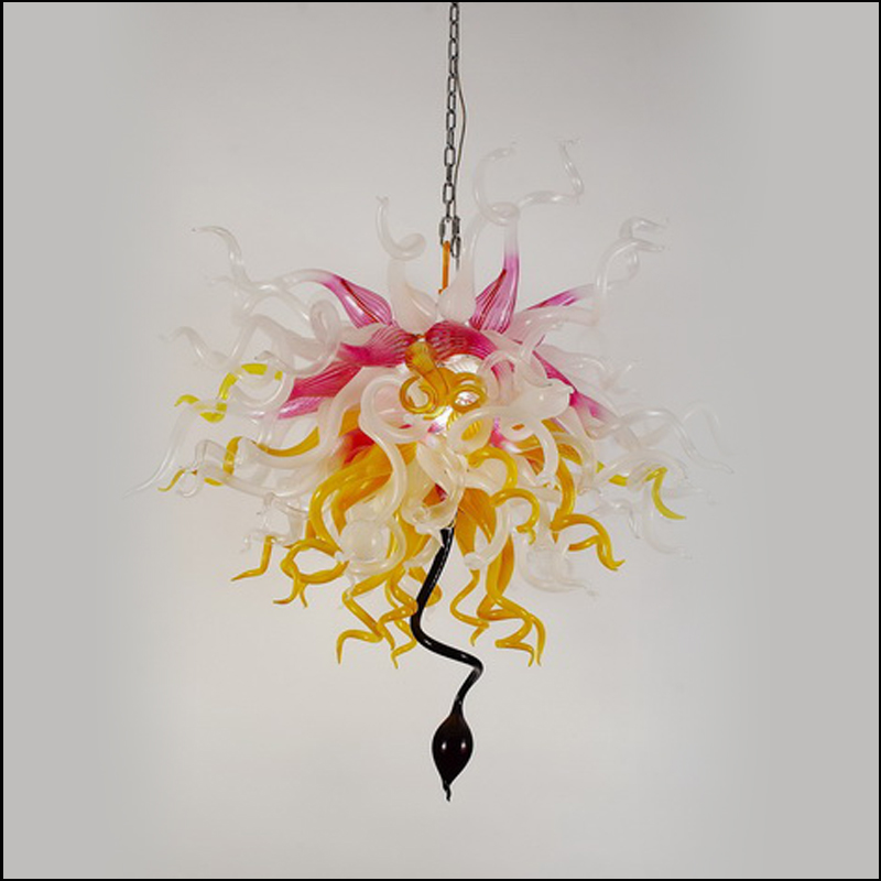 Turkish Style Art Decor Blown Glass Chandelier Handmade Blown Glass Chandelier Lighting