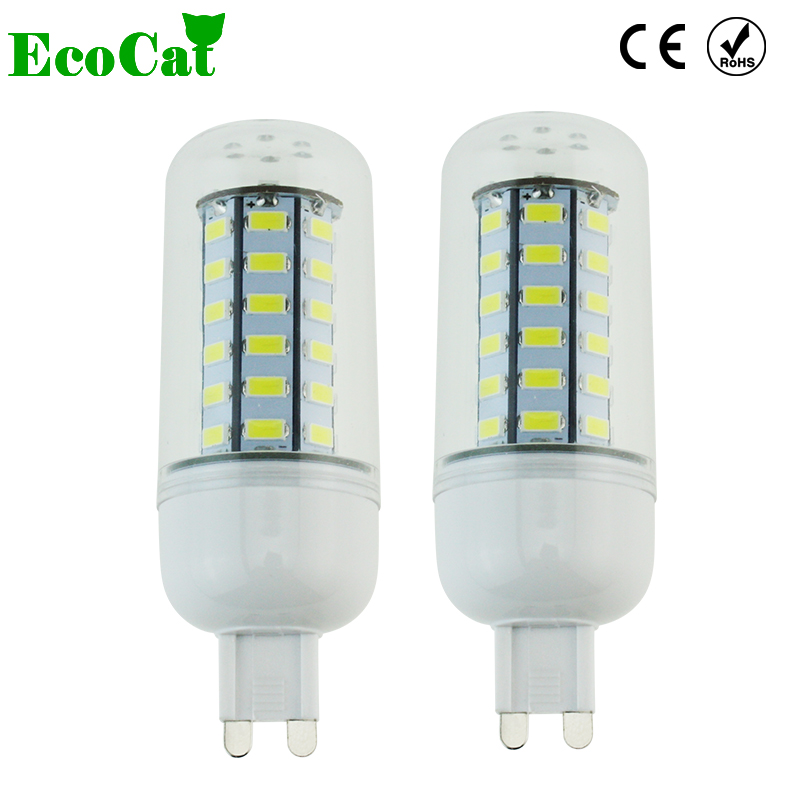 eco cat led bulb lighting g9 led lamp 220v 240v smd5730 24. Black Bedroom Furniture Sets. Home Design Ideas
