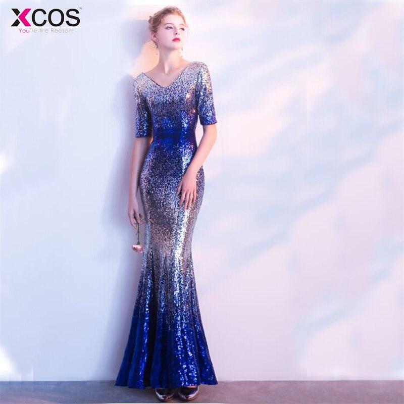 Real Photo Robe De Soiree New Evening Gowns vestidos de baile Stock ...