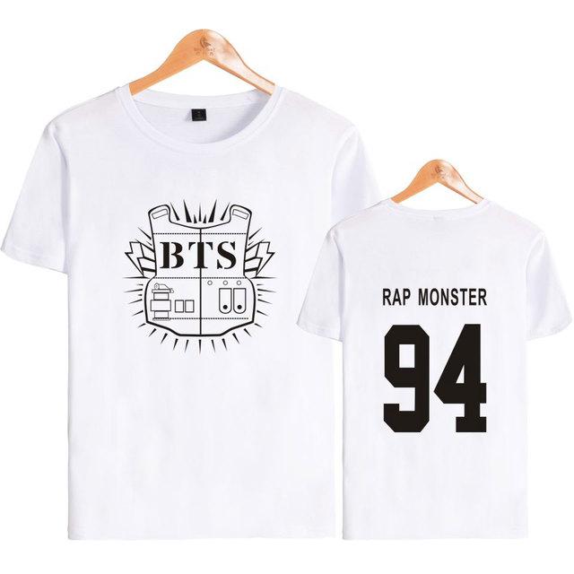 BTS (Bangtan Boys) Bulletproof Band Member T-Shirts