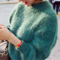 Мода 8 Цвета Стильный Осень Пуловер Женщины Свитера 2016 С Длинным Рукавом Теплые Пуловеры Свитер