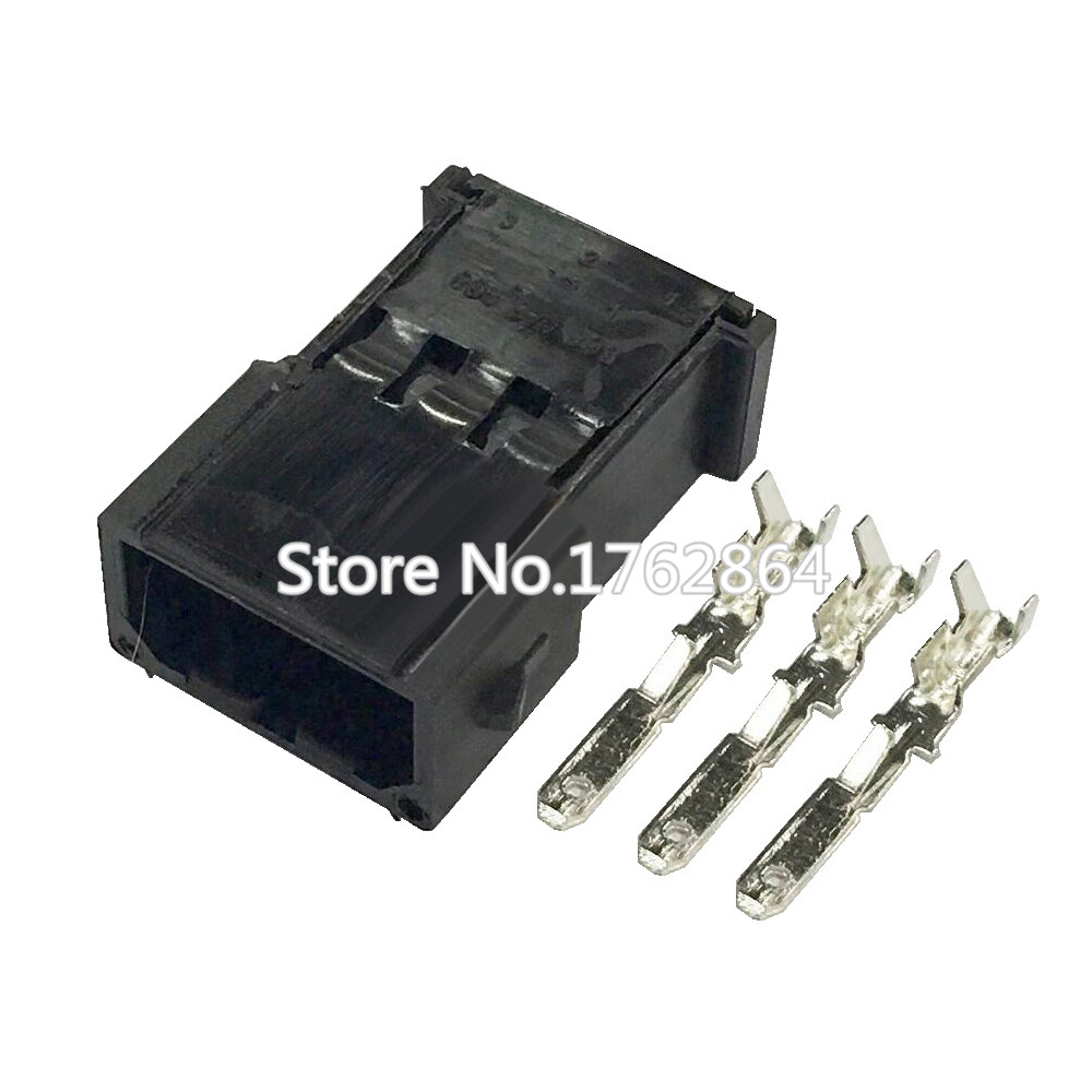 Waterproof connector good car Qashqai car connector with terminal block DJ7037 2 8 11 3P in Connectors from Lights Lighting