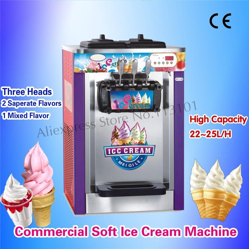 Soft Serve Ice Cream Maker Automatic Digital Control High Quality CE Approved Sofy Ice Cream MachineSoft Serve Ice Cream Maker Automatic Digital Control High Quality CE Approved Sofy Ice Cream Machine