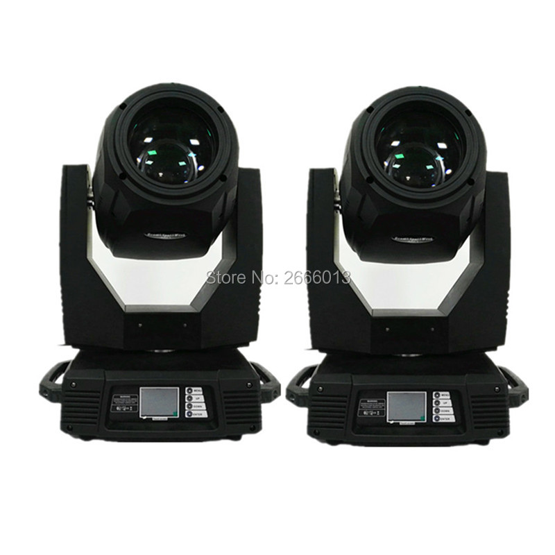 2pcs professional stage disco bar 350W 17R Moving head Beam Spot wash 3in1 DMX512 stage effect light with prism zoom 350W Beam