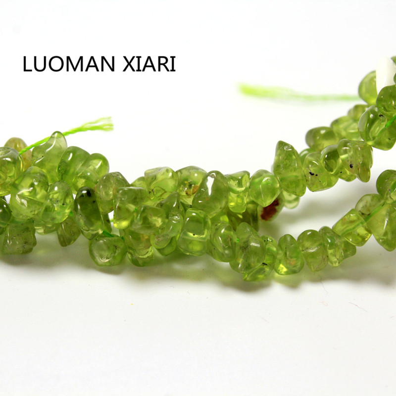 50g Wholesale Natural Stone Chip Raw Peridot Rock Sandstone Crystal Beads 3~8mm For Jewelry Making Education Teaching Diy Lol Beads & Jewelry Making Jewelry & Accessories