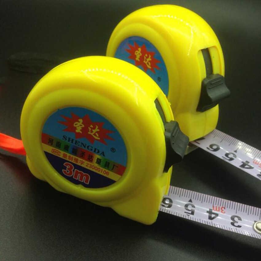 3/5/7.5/10 متر أشرطة القياس مزدوجة الجانب الصلب مرنة القاعدة الجانب شريط قياس صلب قياس قابل للسحب قياس أدوات