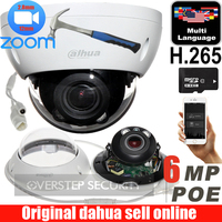 Mutila language Dahua IPC HDBW4631R ZS IP Camera 2.7mm ~13.5mm varifocal motorized lens 6MP IR50M with sd Card slot POE network