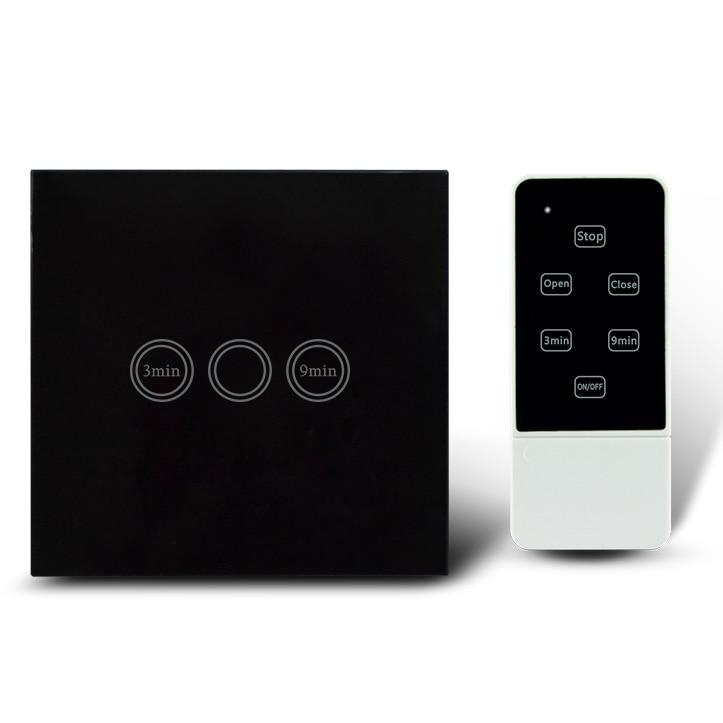 Tipo UE Interruptor Temporizador de Luz de Control Remoto, RF 433 Mhz, Casa inte