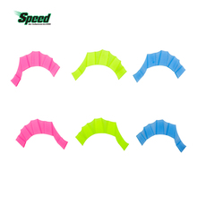 10 Pair Soft Silicone Swimming Fins Flippers Frog Hand Swim Web Webbed Glove Training Paddle Dive