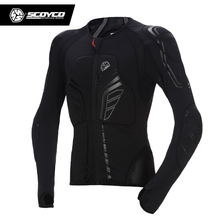 SCOYCO Motorbike/Motorcycle Motocross Racing Body Armor Riding protective Gear Absorbent Perspiration Breathable Shirt Stretch