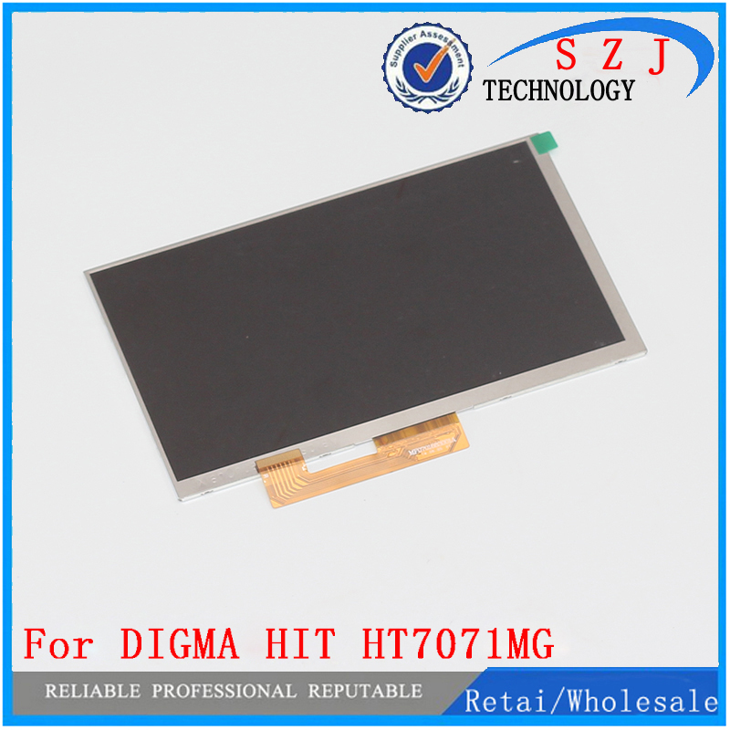 New 7'' inch 30pin For DIGMA HIT HT7071MG Bravis NB75 3G LCD Display Screen tablet pcs free shipping