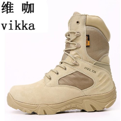 camouflage Tactical Military Combat Men Boots Outdoor Wearable Warm Cotton Shoes Climbing Army Men Boots  Men's Tactical Boots