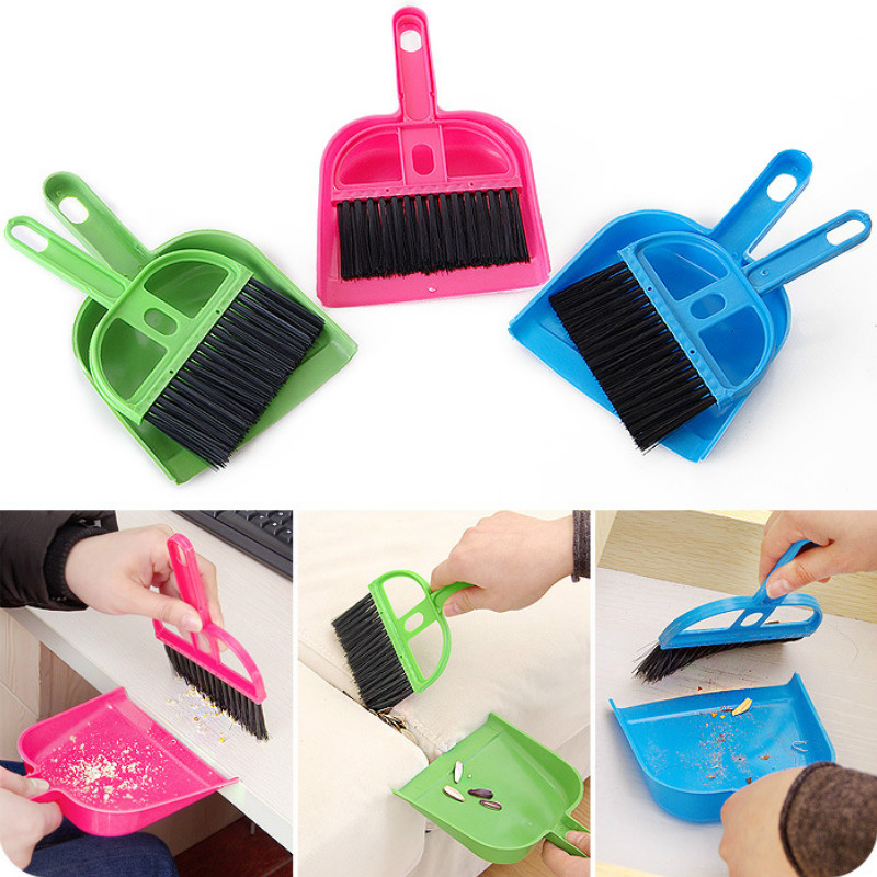 Mini Pretend Play Mop Broom Toys Creativity Deloping Exploring Ability Cute House Clean Montessori Toys Random Color