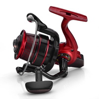 Lizard Fishing 13+1BB Virgin 6500 size carp feeder fishing reel with match spool long cast small body spinning reel