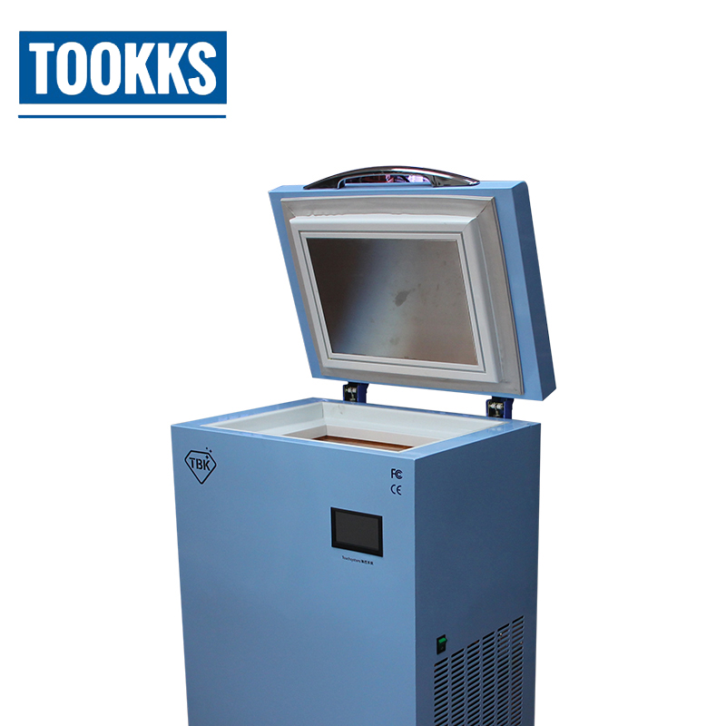 TBK-588 Frozen Separator -185C LCD Freezing Machine LCD Touch Screen Separating Equipment For Mobile Phone Refublish 947c lcd separating machine for mobile screen refurbishment with dual digital display russia free tax page 3