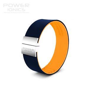 Image 2 - Güç İyonik Unisex yeni bir 3000 iyonlar moda ayarlanabilir İnce titanyum bilezik bileklik