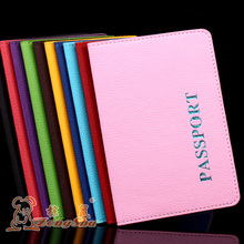 ZS general business style man's & women's  passport  cover smooth edge litchi grain inner PU leather certificate passport holder