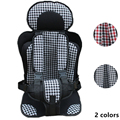 Preenchimento de Algodão respirável Wearproof Durável Fácil Limpeza Portátil Cadeira de Criança No Carro, Cadeira de Assento de carro para bebês, bebek oto koltuk