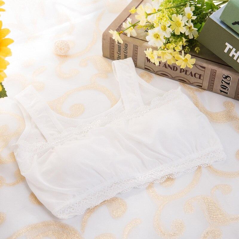 Hot Sale Teenage Girl Underwear Wire Free Cotton -6811
