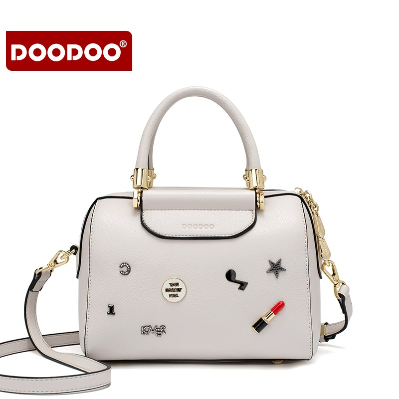 DOODOO Famous Brand Luxury handbags women bags designer Pu Leather Ladies Crossbody Bags For Women Shoulder Bags Messenger Bag 2017 new fashion women messenger bags pu leather women s shoulder bag crossbody bags casual famous brand popular ladies handbags