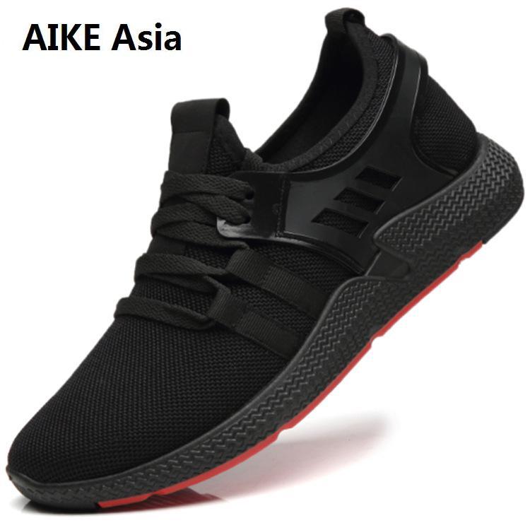 d44dc925ba2304 Doux Respirant slip Haute Confortable Rouge 2018 Hommes Chaussures Color  Sneakers Nouveau Color Maille Qualité Homme ...