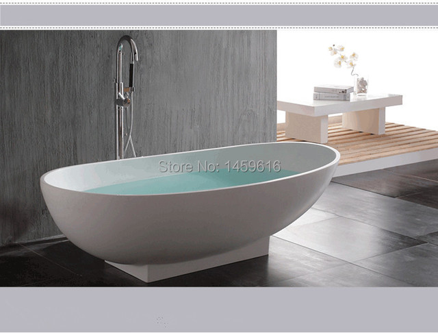 1800 X 820 X 540 MM PAZZO STONE SOLID SURFACE BATHTUB ARTIFICIAL ...