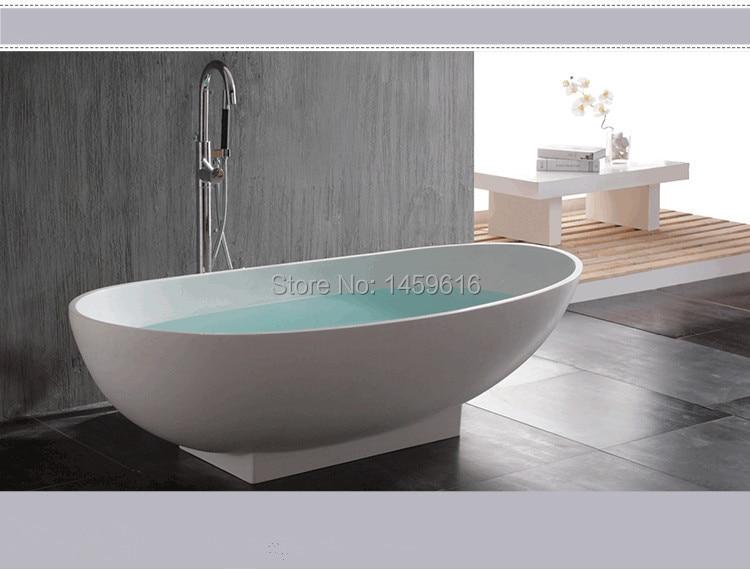 Vasca Da Bagno Pietra : Mm pazzo pietra superficie solida freestanding vasca