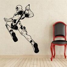 Deadpool Wandtattoo Superhero Vinyl Aufkleber Wand-dekor Abnehmbare Wasserdichte Aufkleber X126