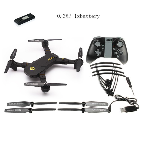 Eachine Visuo Xs809hw Wifi Fpv With Wide Angle Hd Camera Drone High Hold Mode Foldable Rtf Rc Quadcopter Helicopter Toys Mode2 #6