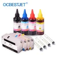 OCBESTJET Refillable Cartridge For HP950 951 Officejet Pro 8600 8610 8615 8620 8630 8640 8660 With