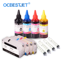OCBESTJET Refillable Cartridge For HP950 951 Officejet Pro 8600 8610 8615 8620 8630 8640 8660 With