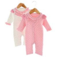2Pcs Newborn Infant Baby Rompers Cotton Clip N Baby Clothing Long Sleeve Baby Body Suit Kids