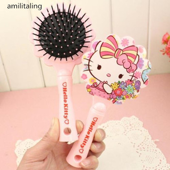 New Hello kitty Make Up Hand Comb yey-9905C