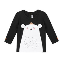 Boys and ladies long-sleeved T-shirt cotton shirt