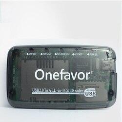 スマートメディア SM カードリーダー USB2.0 オールインワンカードリーダー sd MMC SM XD CF MS