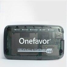SmartMedia SM card reader USB2.0 все в одном card reader для SD MMC SM XD CF MS
