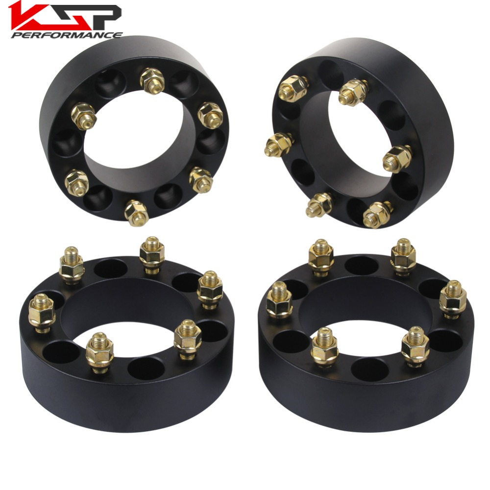 KSP 4Pcs 2 50mm Thickness Wheel Spacers 6x5.5 To 139.7 6 Lug For SUV Offroad For Toyota For Lexus 2 a pair of 6 x 5 5 139 7 mm the hole is 108 mm the wheel adapters spacers suitable for toyota rand cool luze 80 series