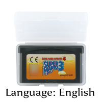 32 Bit Video Game Cartridge Super Mariod Advance 4 Super Mariod Bros. 3 Console Card EU Version English Language32 Bit Video Game Cartridge Super Mariod Advance 4 Super Mariod Bros. 3 Console Card EU Version English Language