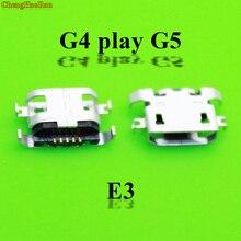 ChengHaoRan 10-50pcs Micro mini USB Charging Dock jack Connector for Motorola Moto G5 G4 play XT1625 E4