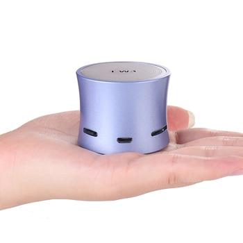 EWa A104 Bluetooth Speaker MP3 Player Remote Camera Portable Speaker Metallic USB Input MP3 Player Stereo multimedia speaker