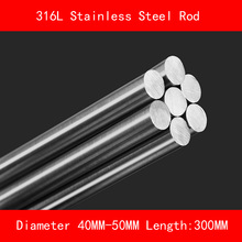 316L Stainless steel round bar Diameter 40mm 50mm Length 300mm metal rod