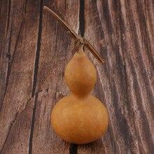 5-6 см) с небольшой платформой, натуральный сухой бутылка с горлышком Gourd колено милые для свадьбы рождественские украшения