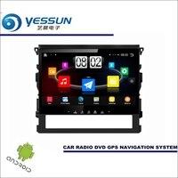 YESSUN автомобильный Android плеер мультимедиа для Toyota FJ Cruiser Радио Стерео gps географические карты Nav Navi навигации (без CD DVD) 10 HD экран