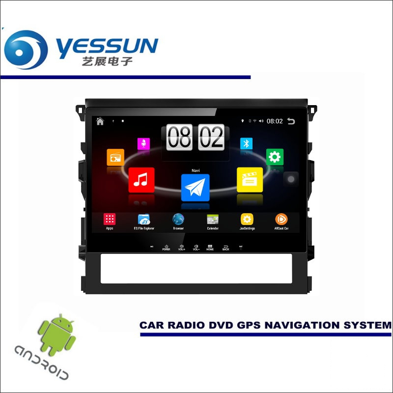 YESSUN Car Android Player Multimedia For Toyota FJ Cruiser Radio Stereo GPS Map Nav Navi Navigation ( no CD DVD ) 10 HD Screen